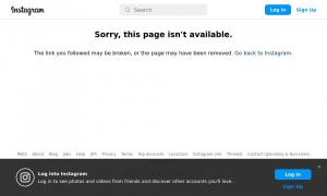 Сайт возможного мошенника instagram.com
